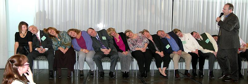 stage hypnotist comedy hypnotism