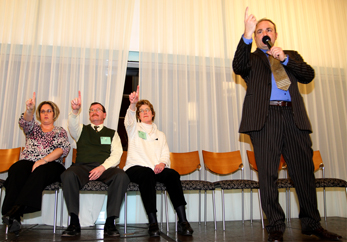 Best Hypnotist Show for Corporate Audience